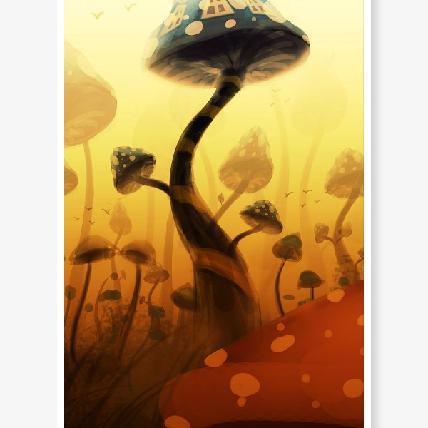 mushroom_home_speedpainting_v2_by_think